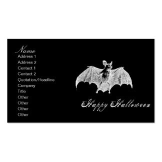 Vampire Bat Wishes Business Card Templates