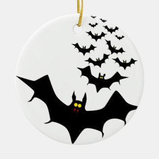 Vampire Bats Christmas Ornament