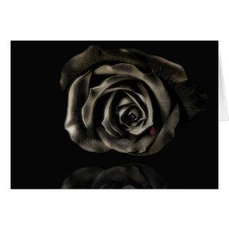 Vampire Black rose Card