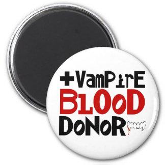 Vampire Blood Donor 6 Cm Round Magnet