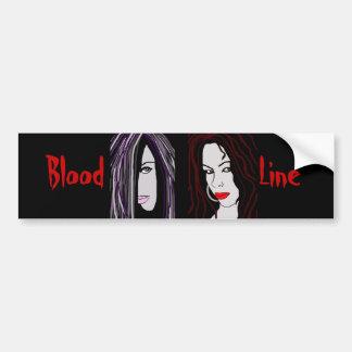 "Vampire ""Blood Line"" Car Bumper Sticker"