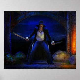 Vampire Bounty Hunter Poster