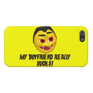 Vampire Boyfriend Sucks iPhone 5 Cover