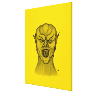Vampire Stretched Canvas Print