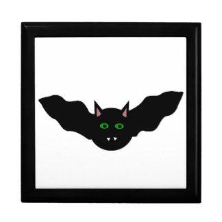 Vampire Cat Faced Bat Halloween Gift Box