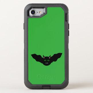 Vampire Cat Faced Bat Halloween Phone OtterBox Defender iPhone 7 Case