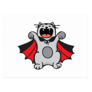 Vampire Cat Postcard