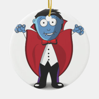Vampire Christmas Ornament