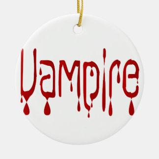 Vampire Christmas Ornament