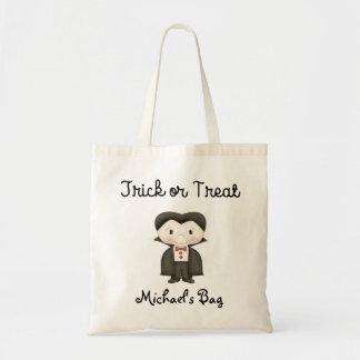 Vampire costume Trick or Treat Bag