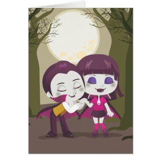 Vampire Couple Card