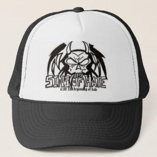 Vampire/Demon/608 Trucker Hat