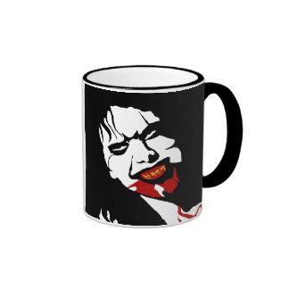 VAMPIRE DEMON (mug) Ringer Mug
