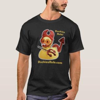 Vampire Duckies Rule (Black T-Shirt) T-Shirt