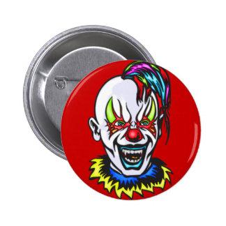 Vampire Evil Clown 6 Cm Round Badge