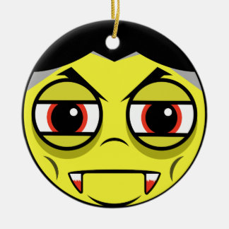 Vampire Face Christmas Ornament
