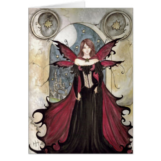 Vampire Fairy Card