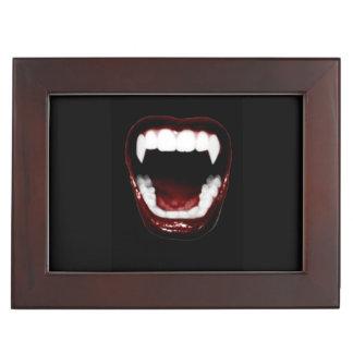 """""""Vampire Fangs"""" design Keepsake Box"""