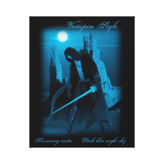 "Vampire fighter-20"" x 16"", 1.5"", Single Stretched Canvas Print"
