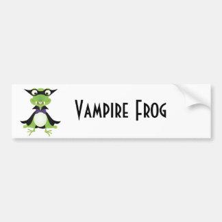 Vampire Frog Bumper Sticker