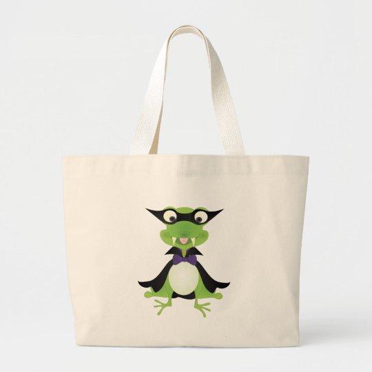 Vampire Frog Large Tote Bag
