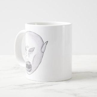 Vampire Ghoul Sketch Jumbo Mug