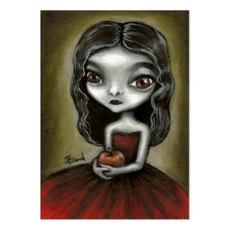 Vampire girl ACEO prints Business Card Templates