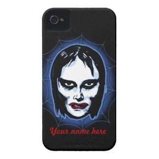 Vampire Girl (horror) iPhone 4 Case