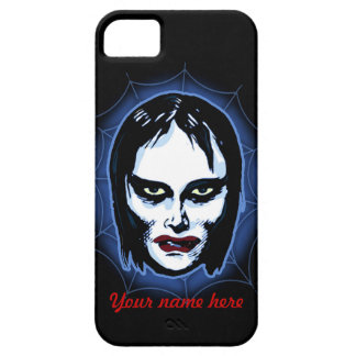 Vampire Girl (horror) iPhone 5 Cases