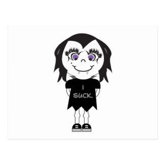 Vampire Girl I Suck Postcards