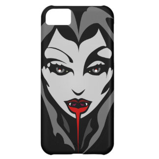 Vampire Girl iPhone Case Cool Vampy Art Case