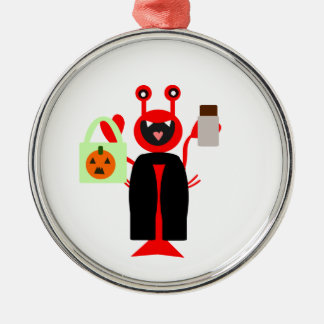 Vampire Halloween Lobster Christmas Ornament