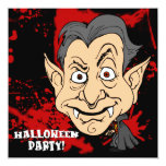 Vampire Halloween Party Invitation