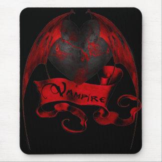 Vampire Heart Mouse Mat