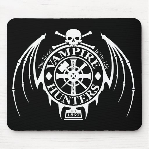 Vampire Hunters Mouse Pad