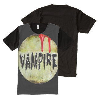 Vampire All-Over Print T-Shirt