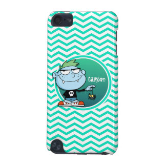 Vampire Kid; Aqua Green Chevron iPod Touch 5G Covers