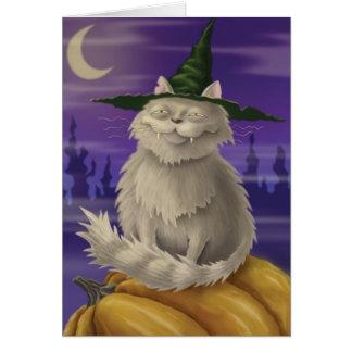 Vampire Kitty Card
