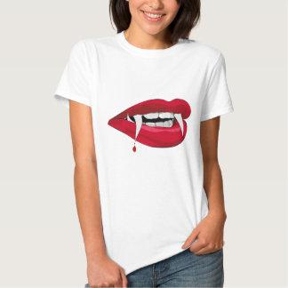 Vampire Lips T Shirts