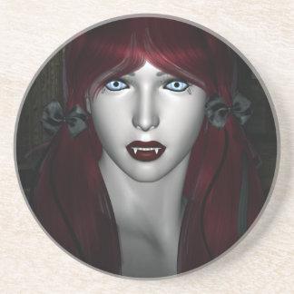 Vampire Lolita Gothic 3D Drink Coaster