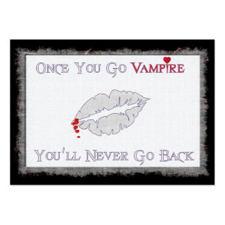 Vampire Love Large Business Cards (Pack Of 100)