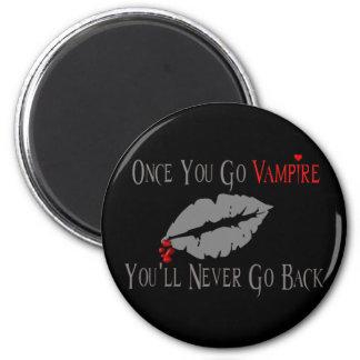 Vampire Love Refrigerator Magnet
