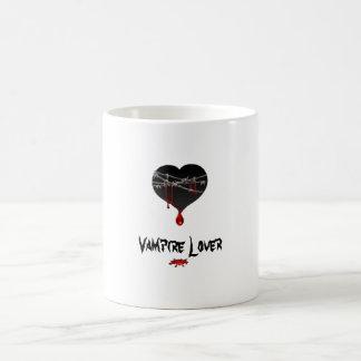 Vampire lover bleeding hearts mug