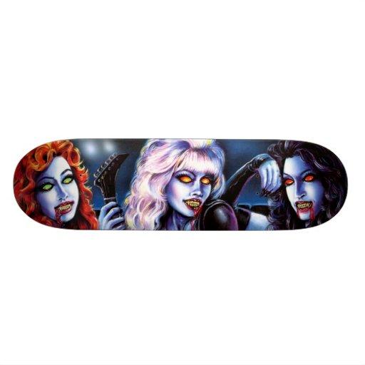 Vampire Metal Girls Skateboard Deck