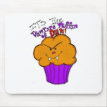 Vampire Muffin of Doom Mouse Pad