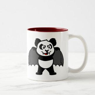 Vampire Panda Two-Tone Mug