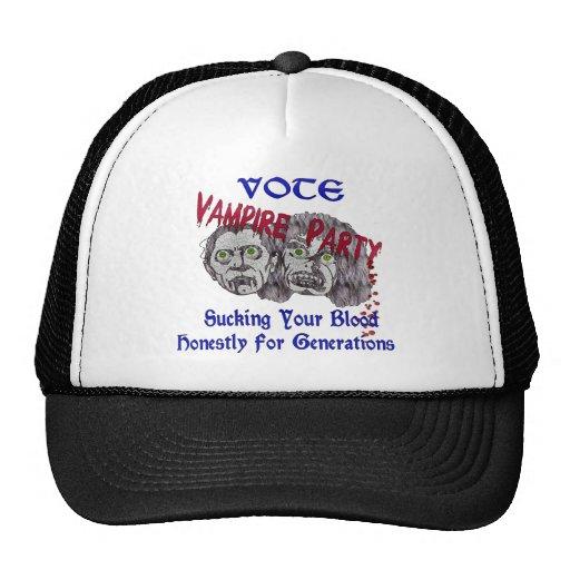 Vampire Party Trucker Hats