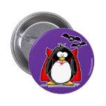Vampire Penguin 6 Cm Round Badge