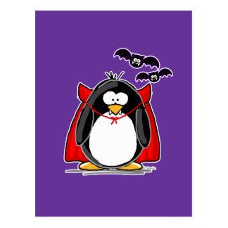 Vampire Penguin Postcard