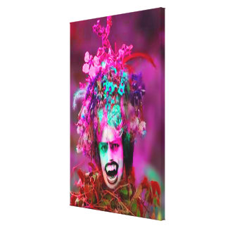 Vampire Plant Gallery Wrapped Canvas